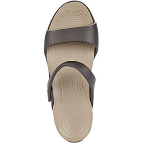 Crocs Cleo V Sandals Women Espresso/Mushroom